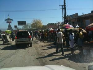 Dans les rues de Petionville