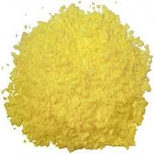 Sulfur, d'un beau jaune canari