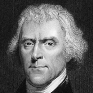 On lit la même détermination chez Thomas Jefferson